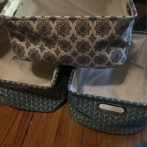 3 Pack Collapsible Boxes (multicolored) for Sale in Andalusia, AL