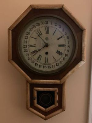Antique wall clock for Sale in Raleigh, NC