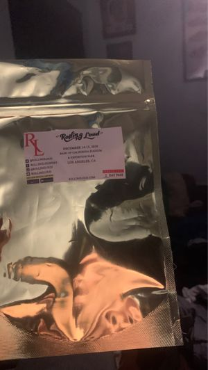 Rolling loud ticket for Sale in Claremont, CA