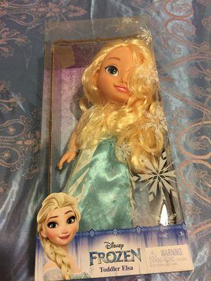 Frozen elsa toy for Sale in Norfolk, VA