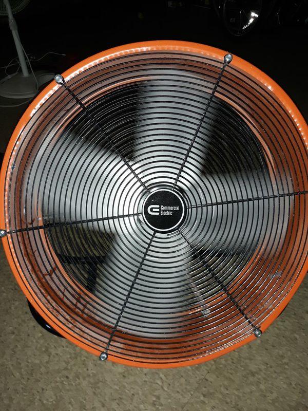 Commercial electric fan 2 speed 26 inch