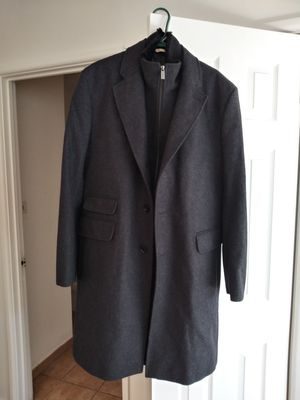 Michael Kors 3/4 length dk gray coat. Size Large (aprox 46-48/tall) for Sale in Des Plaines, IL