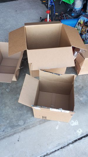 4 moving boxes in your on the westside for Sale in Modesto, CA