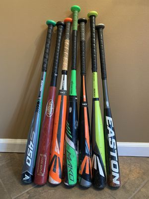 Youth Baseball Bats (Bulk or individual purchase) for Sale in Horsham, PA