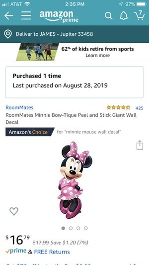 Minnie Mouse decorations for Sale in Jupiter, FL