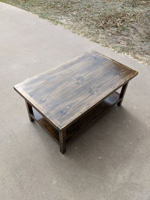 Custom Real Wood Coffee Table for Sale in San Angelo, TX