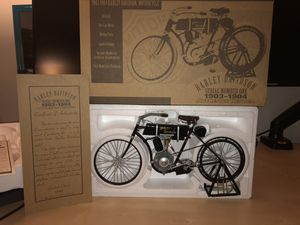 HARLEY DAVIDSON HD 1903 METAL 1/6 SCALE XONEX MOTORCYCLE A REAL BEAUTY RARE for Sale for sale  Fallsington, PA