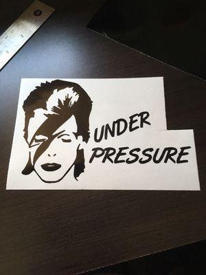 Under pressure pressure cooker decal for Sale in Spanaway, WA