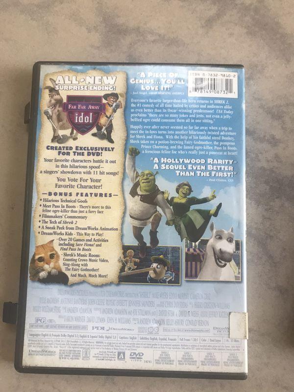 Shrek 2 &Shrek the third