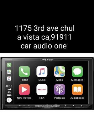 Pioneer double din touchscreen Bluetooth usb apple carplay Android auto for Sale in San Diego, CA