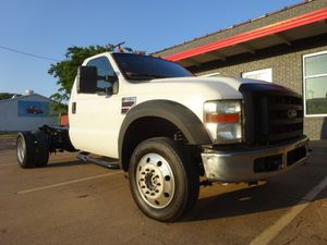 2008 Ford Super Duty F-450 DRW 4WD Reg Cab 201 WB 120 CA XL for Sale in Arlington, TX