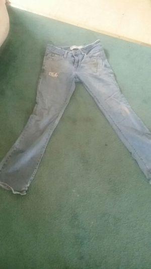 Women's 5M superlow bootcut Levi's distress jeans for Sale in Rockville, MD