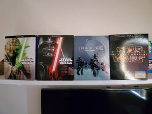 Star wars bluray bundle for Sale in Keizer, OR