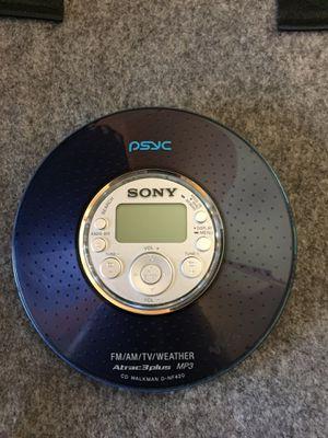 Sony Walkman cd/ radio for Sale in Houston, TX