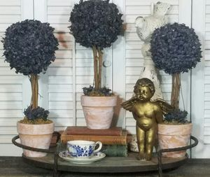 14.5 inch tall Blueberry Topiary set of 3 for Sale in Orlando, FL