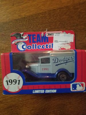 1991 Matchbox Team Collectibles truck Dodgers for Sale in Newburgh, IN