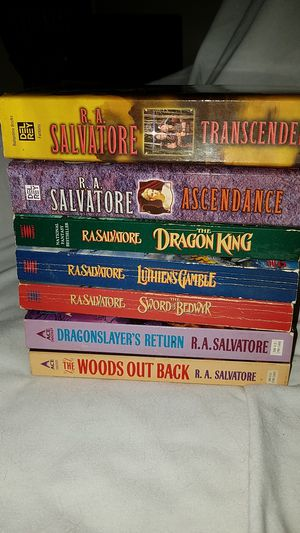 Lot of RA Salvatore fantasy books for Sale in West Palm Beach, FL