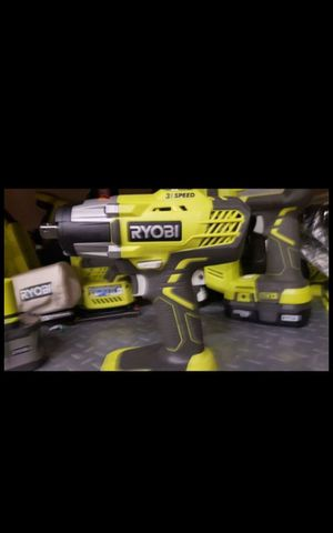 RYOBI 18V CORDLESS VARIABLES SPEED 1/2 IMPACT WRENCH TOOL ONLY BRAND NEW for Sale in San Bernardino, CA