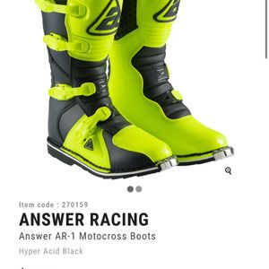 Brand New Yellow Men's Motorcycle Boots size: 12 for Sale in Columbia, SC