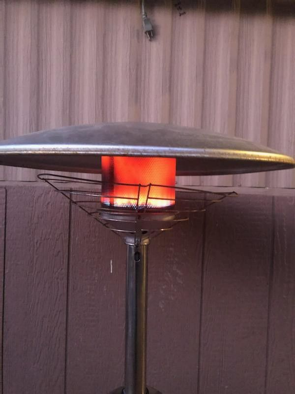 Table patio Heater