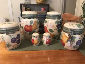 Fruit Kitchen Canister Set $10 for Sale in Newport News, VA