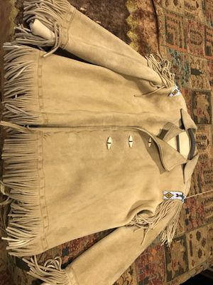 Leather Campaign Coat for Sale in Whiteriver, AZ