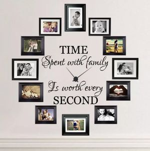 Time Spent with Family is Worth Every Second Decal for Sale in Stockton, CA