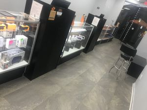 Showcase ,great condition 6 showcases with led light built in. for Sale in The Bronx, NY