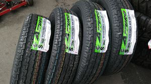 ST 225-75-15 trailer tire on sale lowest price in bay areas for Sale in Lafayette, CA