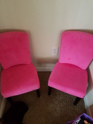 Kid chairs - Pink for Sale in Gresham, OR