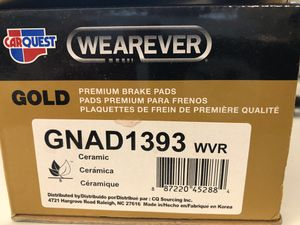 Nissan Altima 2.5L S rear brake pads (NEW) for Sale in Tampa, FL
