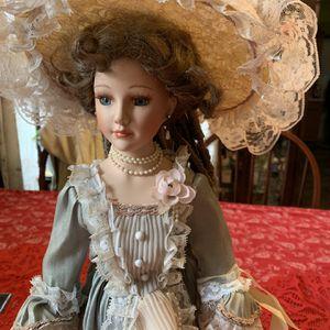 Collectible Porcelain Vintage Doll-Amelia for Sale in Carleton, MI
