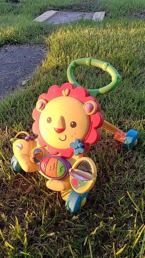 Fisher Price Musical Lion Walker Baby Kids Toy for Sale in Denham Springs, LA