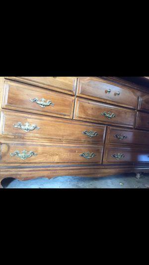Dresser & Mirror for Sale in Clarksburg, MD