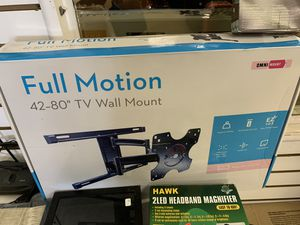 """Tv wall mount full motion 42- 80"""" for Sale in Columbus, OH"""