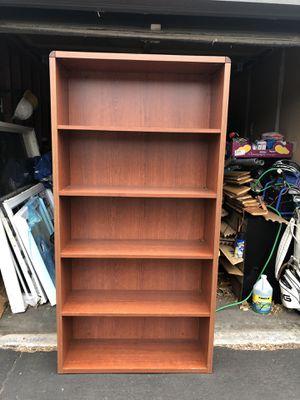 Commercial Office furniture desk and book shelf, overhead hangs, light ballast , windows , shower pan , for Sale in Denver, CO