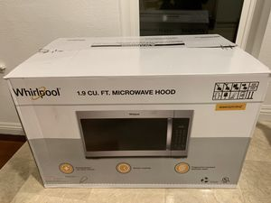 Whirlpool Brand New Microwave with sensor cooking for Sale in La Habra Heights, CA