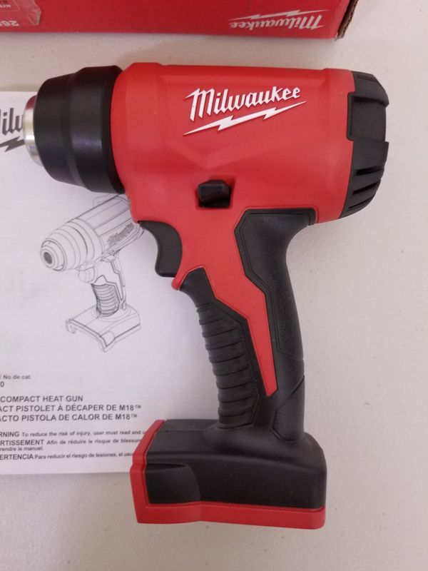 Pickup Is $85 or ship New Milwaukee M18 Cordless Compact Heat Gun Tool Only 2688-20