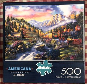 Jigsaw Puzzle 500 piece Buffalo Games for Sale in San Diego, CA