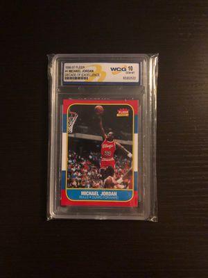 Michael Jordan Gem-Mt 10 card (1996-97) for Sale in Marble Falls, TX