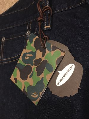 Authentic Bape Jeans Size M for Sale in Santa Ana, CA