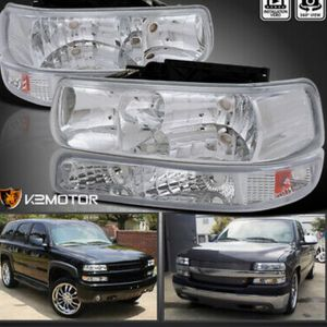 Chevy Tahoe 00-06 New Headlights for Sale in Fresno, CA