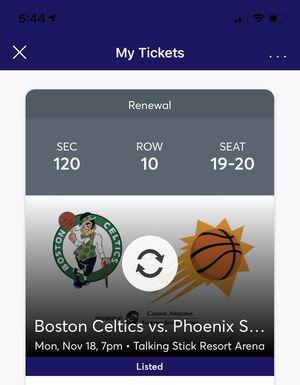 **Phoenix Suns VS Celtics!!** for Sale in Phoenix, AZ