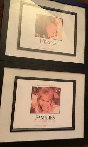 2 large picture frames for Sale in Los Angeles, CA
