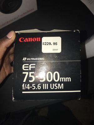 Camera Lens for Sale in Arlington, VA
