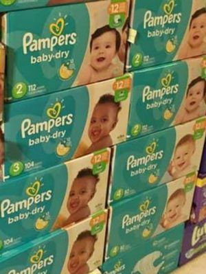 HUGGIES & PAMPERS. BOXES AND PACKS! Pickup Only. Philadelphia Broad and Olney Area. for Sale in Philadelphia, PA