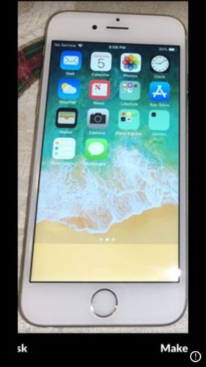iPhone 6s Clean Unlocked For Any Carrier for Sale in Patterson, CA