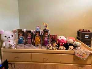 Please offer. I am moving to a new house and all stuffed animals are new condition with tags for Sale in Rowland Heights, CA