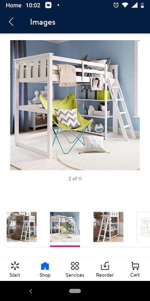 Used Kane Twin Loft Bed w/Desk for Sale in Tulsa, OK