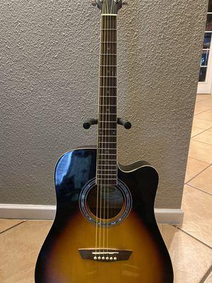 Washburn acoustic electric guitar for Sale in Phoenix, AZ